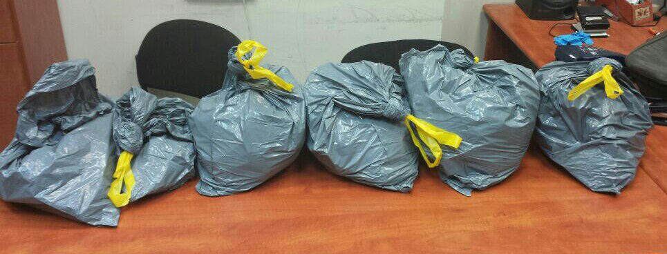 """נתניה: נתפסו מאות שקיות """"נייס גאי"""""""