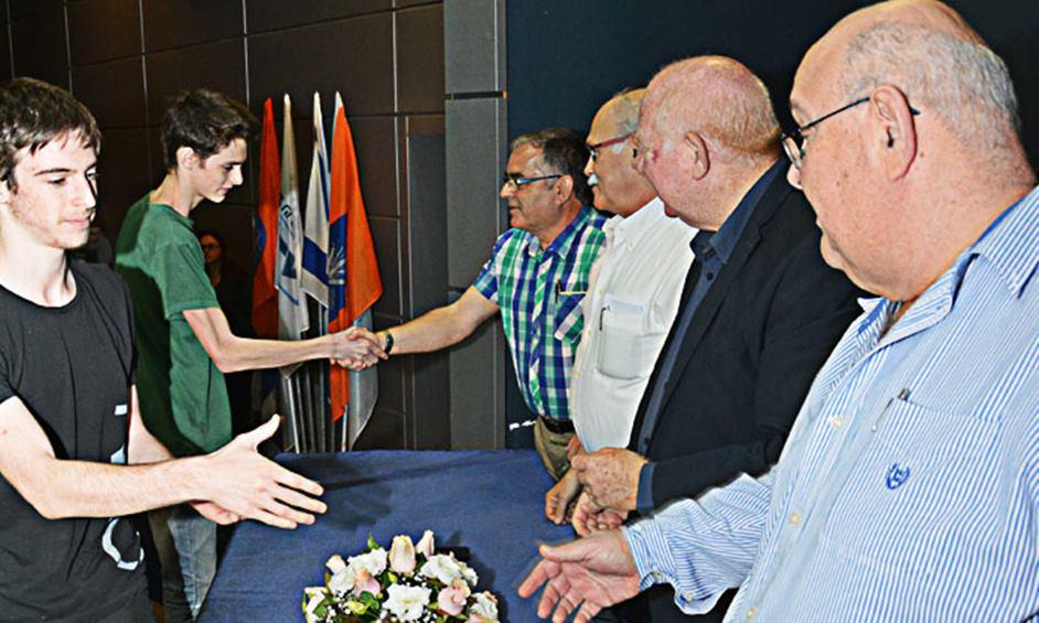 ארבעה תלמידים מנתניה במקומות הראשון והשני באורטיאדה