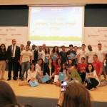 נתניה: אות הפעיל המצטיין הוענק ל-30 בני נוער מתנדבים