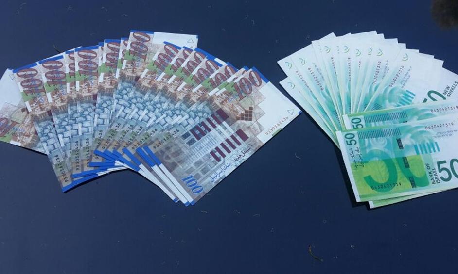קנה מוצרים בשטרות מזוייפים ונתפס