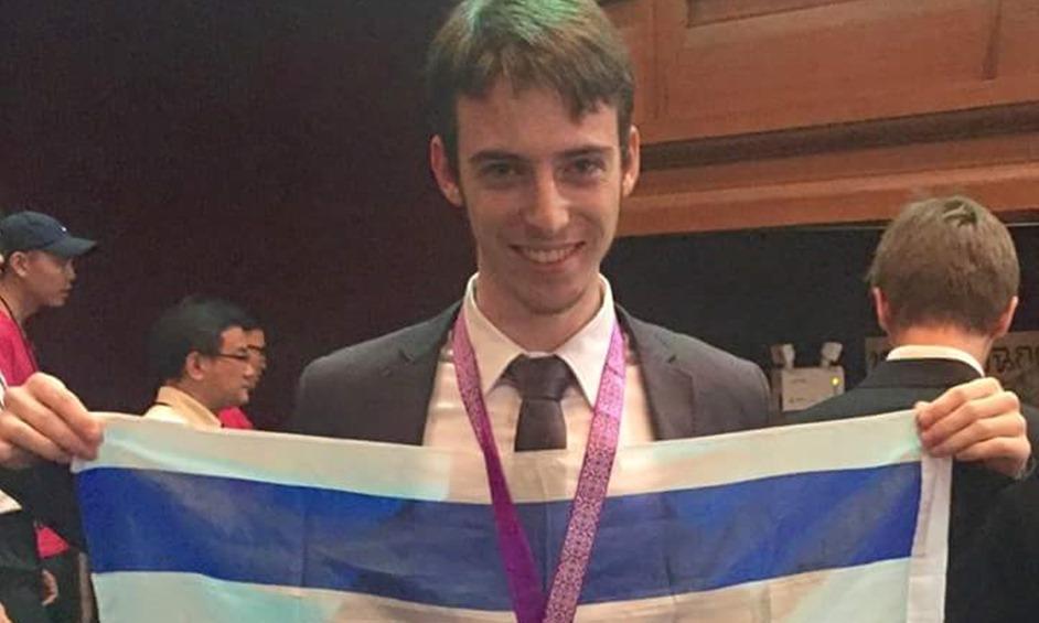 מדליית זהב באולימפיאדה למתמטיקה לתיכוניסט מנתניה