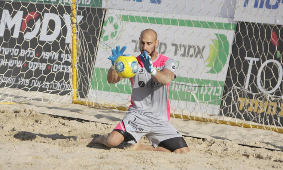 כדורגל חופים: רון למל חולם על הגביע