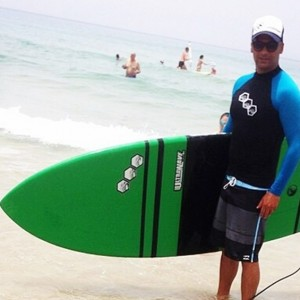 חבר מועצת העיר נתניה רפי ימין והסאפ - חוף סירונית