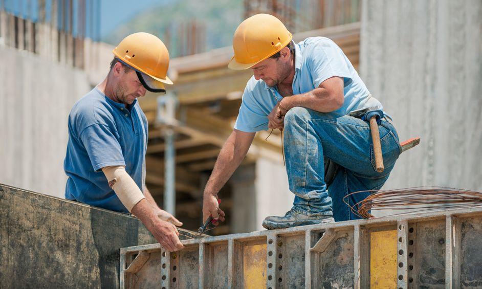 ענף הבניה מסוכן לבטיחות העובדים