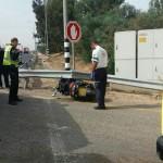 רוכב אופנוע נהרג בכביש 4
