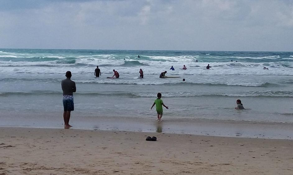 נתניה: חוף קונטיקי יהפוך לחוף לספורט ימי בלבד