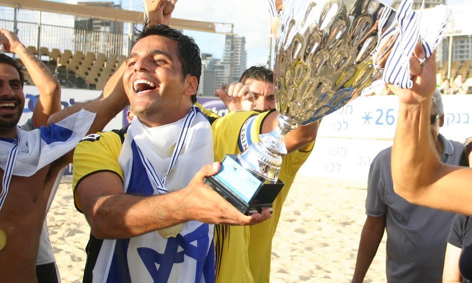 נבחרת ישראל דרסה את נבחרת הולנד 7:3 בכדורגל חופים