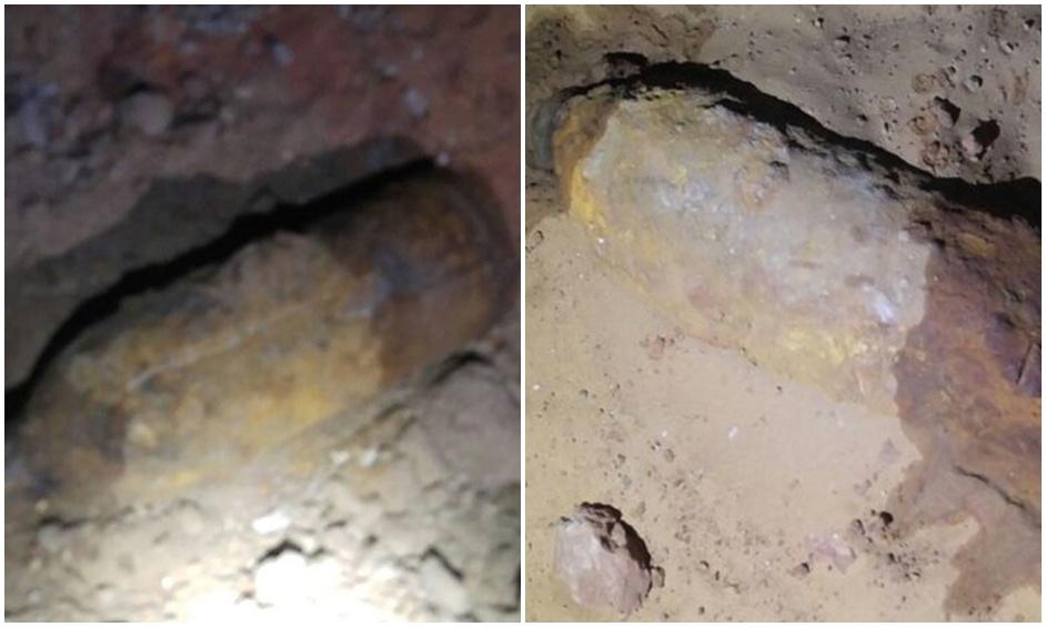 פגזים מימי שלטון התורכים נמצאו באתר בנייה