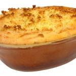 פשטידת תפוחי אדמה ופטריות