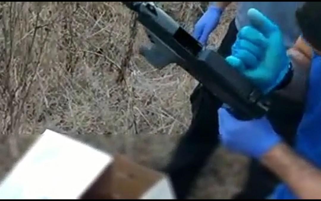 נתניה: נתפס תת מקלע מאולתר מסוג קרלו