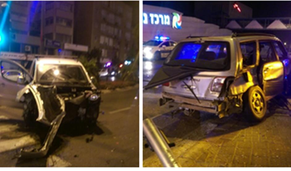 נתניה: בן 18 נהרג בתאונת דרכים