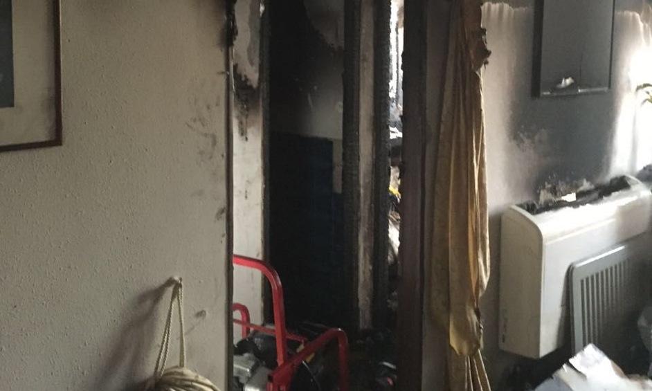 לוחמי האש נלחמו בשלוש שריפות בלילה אחד