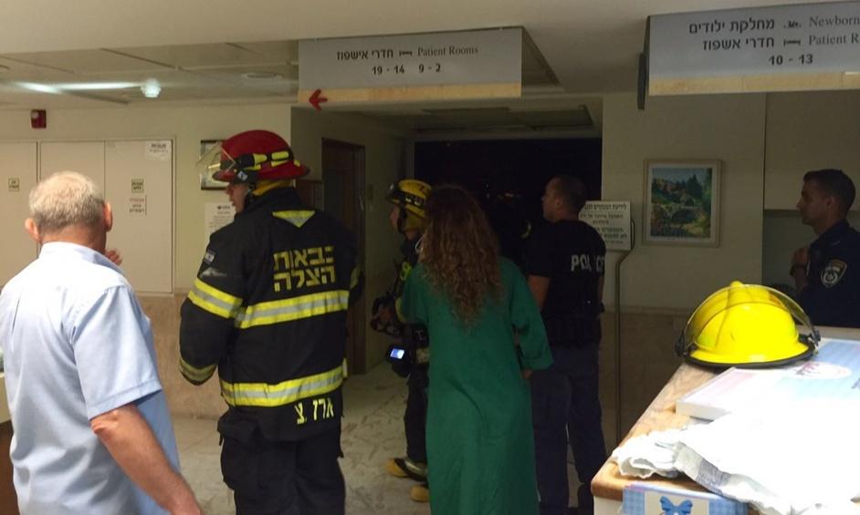 נתניה: דליקה פרצה במחלקת יולדות בבית חולים לניאדו