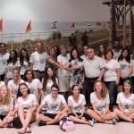 ביקור של תקווה – משלחת תלמידים מגיסן ביקרה בנתניה