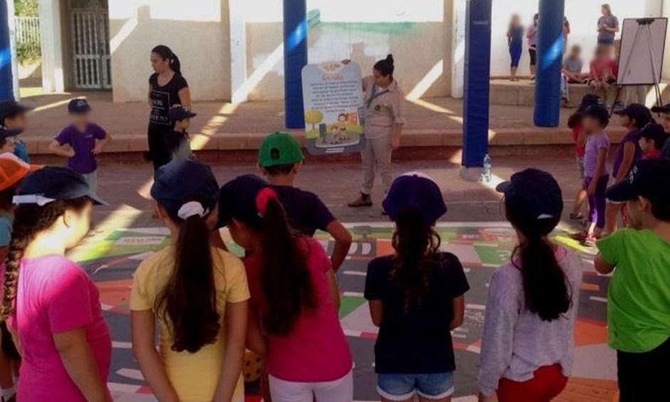 עמותת אור ירוק בפעילות מיוחדת לתלמידי רימלט