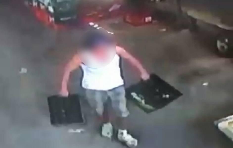 נתניה: פרץ למחסן משקאות ונעצר