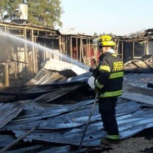 צילום דוברות כיבוי אש
