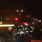קשיש נפגע משאיפת עשן בדליקה בביתו