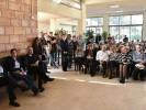 """מלווים את ד""""ר אברהם בר מנחם בדרכו האחרונה. תמונה באדיבות עיריית נתניה"""