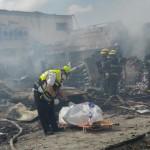 שני הרוגים ופצוע קשה בשריפת מחסן הזיקוקים
