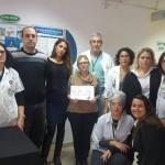 נתניה: פרחים ושוקולדים לצוותים הרפואיים