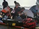 """מצילים מטביעה. תמונת ארכיון. צילום שלומי מרצ'ביאק, תיעוד מבצעי מד""""א"""