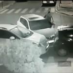 חשד – נהג בגילופין והתנגש בשני רכבים