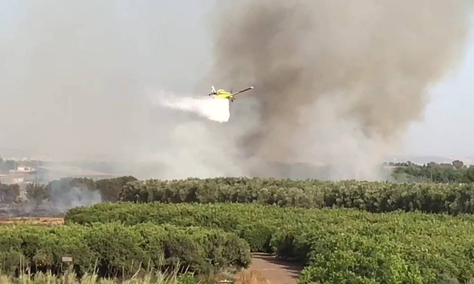 החום הכבד: שריפות משתוללות בעמק חפר