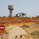 בעלי קרקעות בתל מונד: עבודות הפיתוח מתעכבות