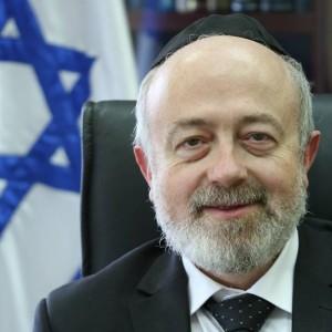 הרב שמעון יעקבי, מנהל בתי הדין הרבניים. צילום דוברות בתי הדין הרבניים