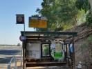 התחנה המוזנחת בצומת מעברות