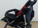 עגלת התינוק בה הוחבאו התכשיטים החשודים כגנובים. צילום דוברות המשטרה