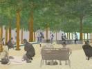 הכיכר המרכזית - שכונת עיר ימים. הדמיה באדיבות עיריית נתניה