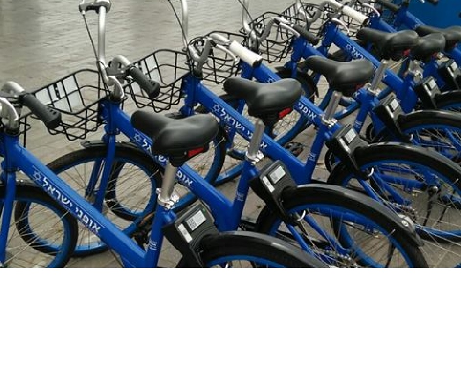 אופניים לתושבים. צילום באדיבות עיריית נתניה