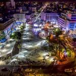 אלפים השתתפו בקרנבל המונדיאל בכיכר