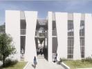 הדמיית המרכז הקהילתי. באדיבות יואב מסר אדריכלים