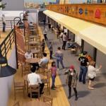 השוק העירוני יהפוך למתחם בילוי ובפנאי