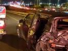 שבעה נפגעים בתאונת דרכים. צילום באדיבות איחוד והצלה